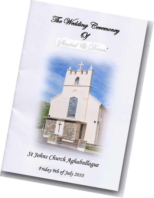 Wedding Booklet Shenandoahweddings Us